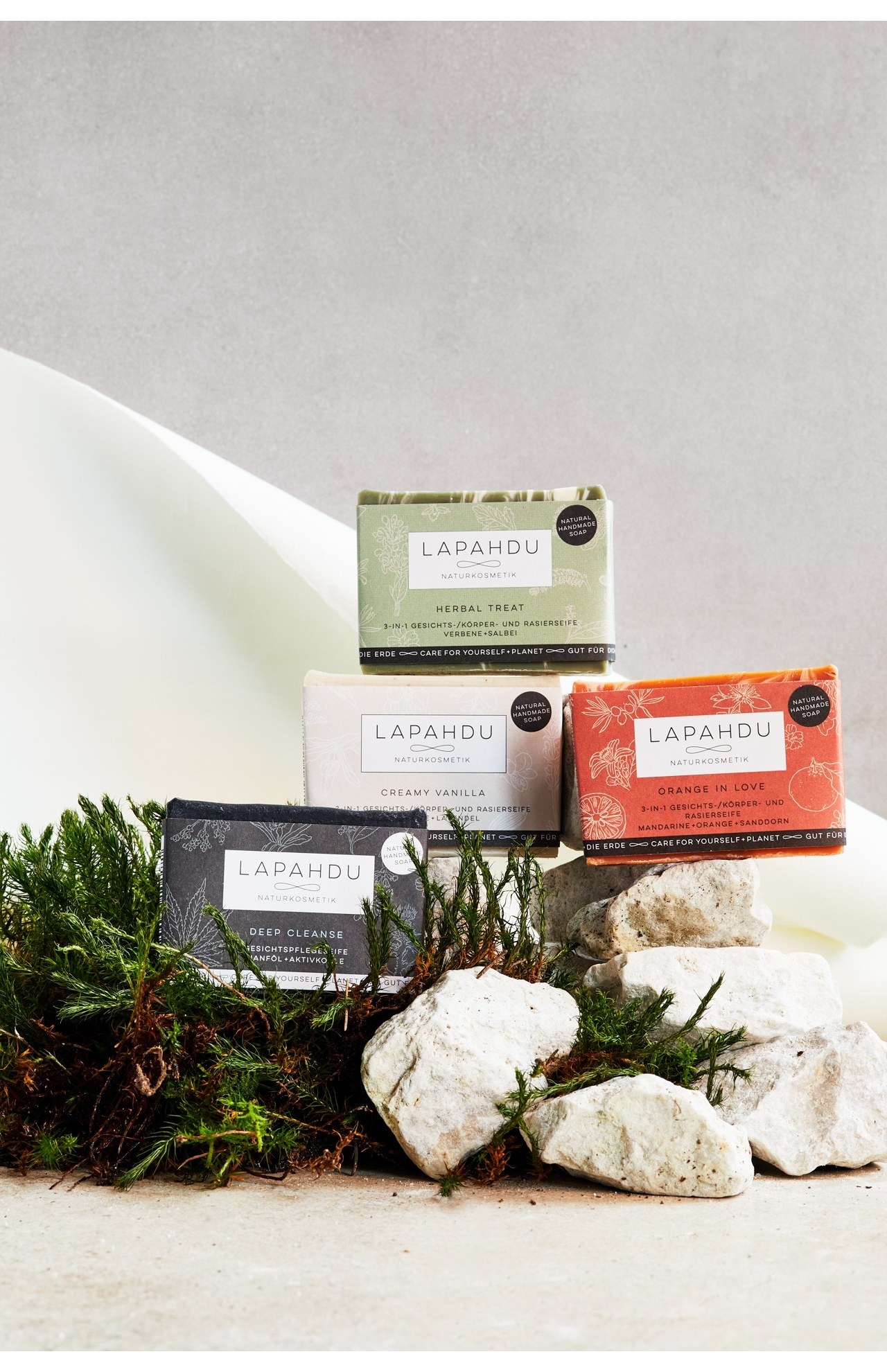 SET of 4 SOLID SOAPS | 4 x 100 g
